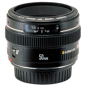 Objectif Canon 50mm F1.4