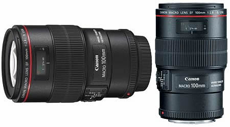 Objectif Canon 100MM f2.8 L IS