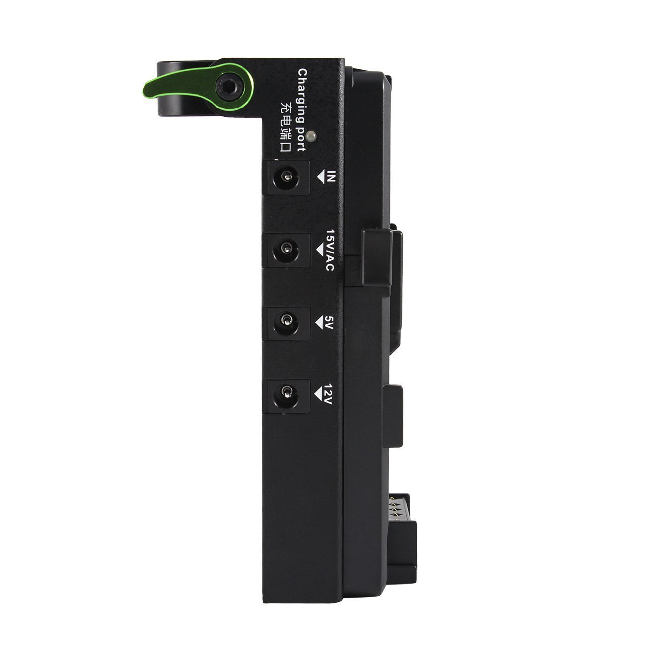Location de support batterie V-Mount et splitter HDMI