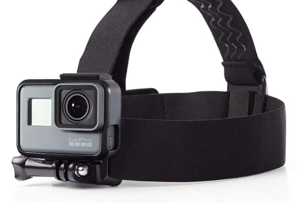 Fixation frontale pour GoPro