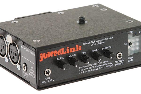 Mixette JuicedLink dt454 pour DSLR
