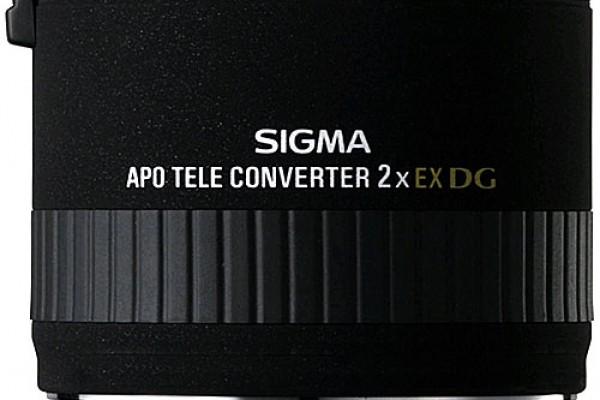 Doubleur de Focale Sigma EX