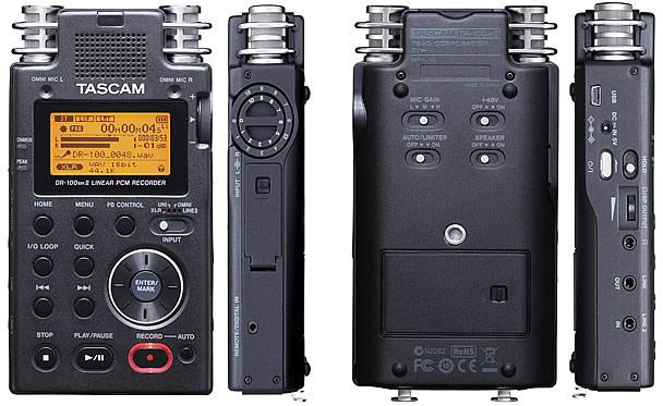 Enregistreur Tascam DR100 Mk II